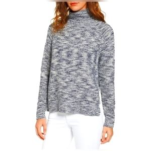 Madewell Boxy Mock Neck Sweater SZ S